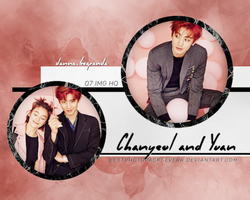 Photopack 16440- Chanyeol (EXO) and Yuan Shanshan by southsidepngs