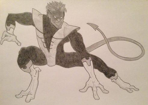 Nightcrawler by StreifSketches