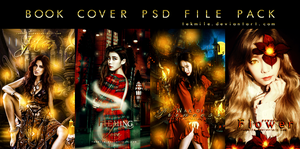 Book Cover Psd File Pack 2 by Tekmile