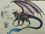Nyxia's Ref. Sheet by Dodgesmiley