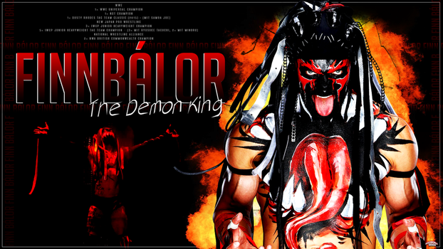 Finn Balor Wallpaper by roXx81