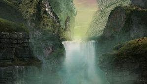 Valley of the Mist Matte by jbrown67