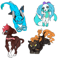 4 trades ouo by Midnightflaze