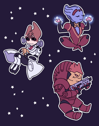 Mass Effect: Old-Timers for n7 Day! by labotor11