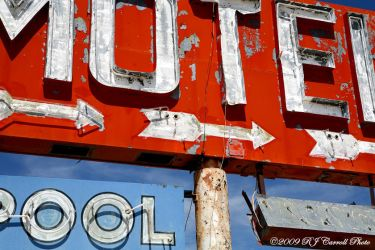 Motel Sign I by rjcarroll