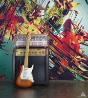 Amp and Guitar by AhmadTurk