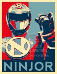 Ninjorposter Mperry 2015 by MikePerryArt