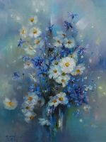 Camomile and cornflowers by longest13