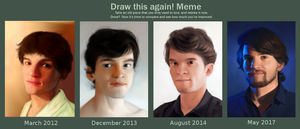 Draw this again - Meme - Him by Aliciane