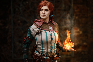 Triss Merigold, Fourteenth of the Hill by MsSkunk