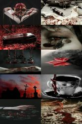 Supernatural Creatures Aesthetics: Vampire by OldKitsune