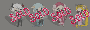 [Closed] Shi no Baku Chibi Batch by REDs33sALL