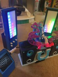 DJ-PON3 Bluetooth speaker set DONE! by DustyPony