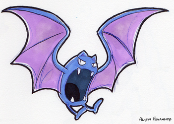 #042 Golbat by little-ampharos