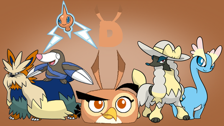 Dal's Pokemon Team by jared33