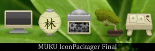 Muku Icons for IconPackager by chrislachance