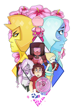 Crystal Gems vs. Diamonds