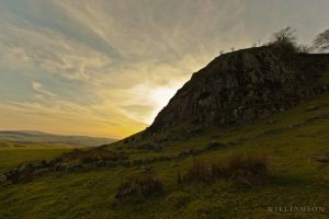 Loudoun Hill Scotland by toxicdesign