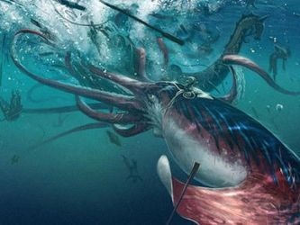 Giant Squid by JES86