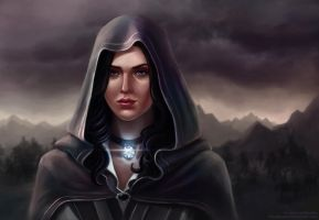 Yennefer of Vengerberg by KsuShusha