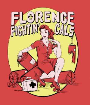 Florence Fightin' Gals Nurse by duralict