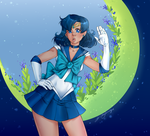 Sailor Mercury by NikaInfinity
