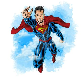 Color Practice (Jan 2 2017) Supes by DCT66