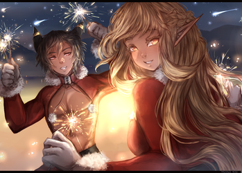 Early Christmas Party by NetherRiel