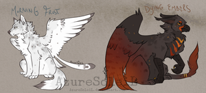 Winter Fall Adopts CLOSED by MasqueradeSoleil