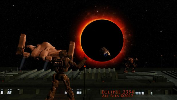 Eclipse 2354 by Ali Ries 2017 by Casperium
