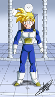 Teen Gohan is in Hyperbolic chamber by ChibiDamZ
