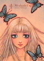 45. ACEO - Observer by Michaela9