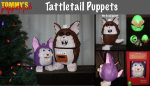 Tattletail Puppets by TommyGK
