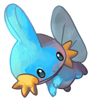 Mudkip by cheepers