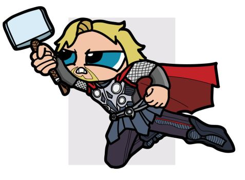 Thor by THUNDRkitty
