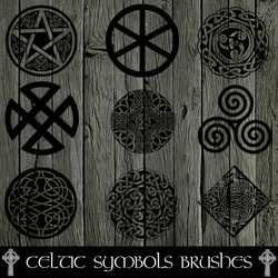 Celtic Symbols Brushes by RoseCabriolet