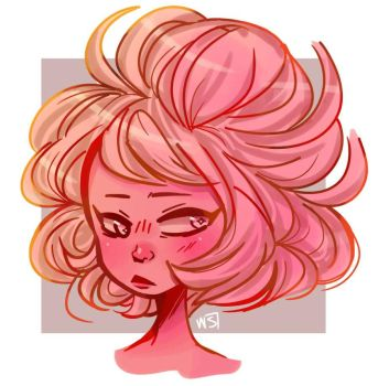 Pink Diamond  by WinterShade7