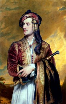 Lord Byron In Albanian Dress In 1809 by eduartinehistorise
