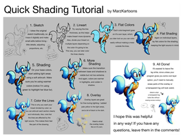 Quick Shading Tutorial by MarzKartoons