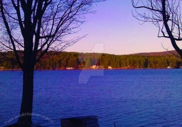 Beautiful Lake Front View by TreasuredMemoriesNH