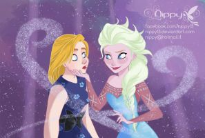 Elsa the queen by Nippy13