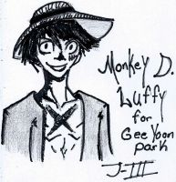Art Trade: Monkey D. Luffy by Jay-Jay3