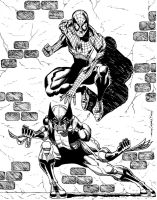 SPIDEY-WOLVIE COMMISSION by FanBoy67