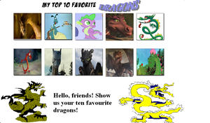 My Top 10 Favorite Dragons by Detective88
