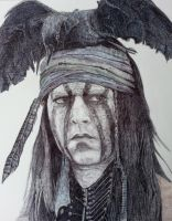 TONTO from THE LONE RANGER by OMKDrawings