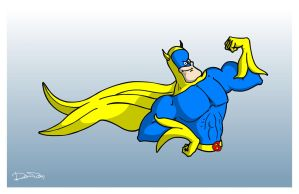 Bananaman by ferwar