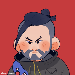 commission: reflections hanzo by Fingurken