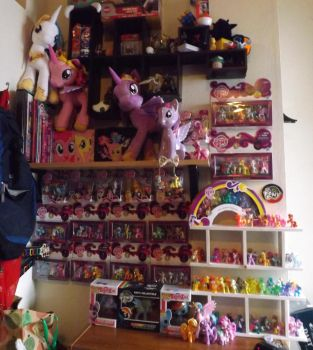 My Little Pony Collection March 31 2014-The Basics by SummerFlightCamp