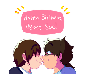 Happy Birthday, Hyong Soo! #1 (by robod0rk) by TheRealCommissioner