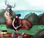 Kieran and Jun - contest by Lysithea-X
